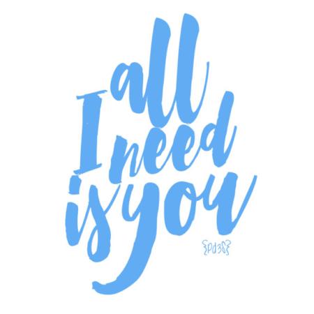Body all i need is you Par de 3 Studio Shop