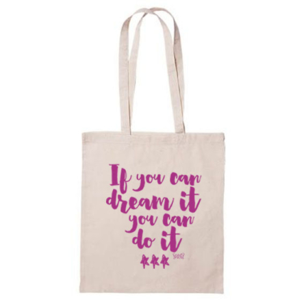 Bolsa de tela if yo can dream it Par de 3 Studio Shop