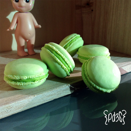 goma iwako macaron verde Par de 3 Studio Shop