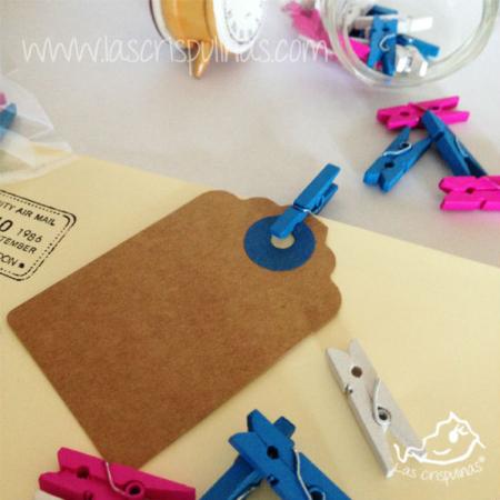 Mini pinzas azules Par de 3 Studio Shop