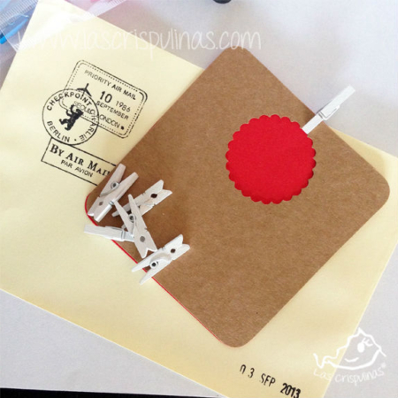 Mini pinzas blancas Par de 3 Studio Shop