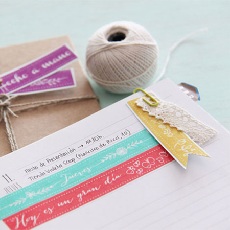 washi tape mostaza little hannah Par de 3 Studio Shop