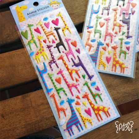 Pegatinas jirafas Par de 3 Studio shop