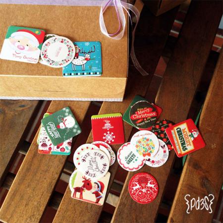 Pegatinas Navidad Par de 3 Studio shop