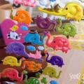 Pegatinas elefantes Par de 3 Studio shop