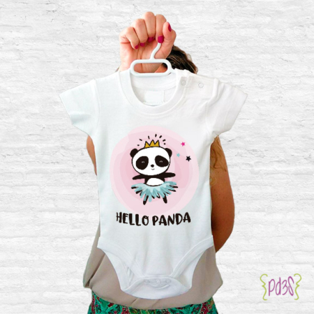 Par de 3 Studio Shop body hello panda