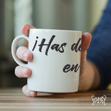 Par de 3 Studio Shop taza profe corazon