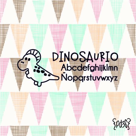 Par de 3 Studio sello marca ropa dinosaurio