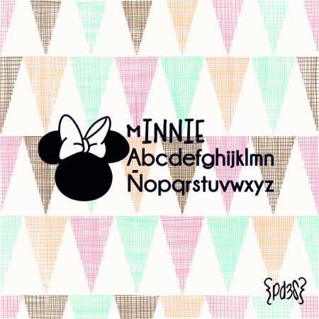 Par de 3 Studio sello marca ropa minnie