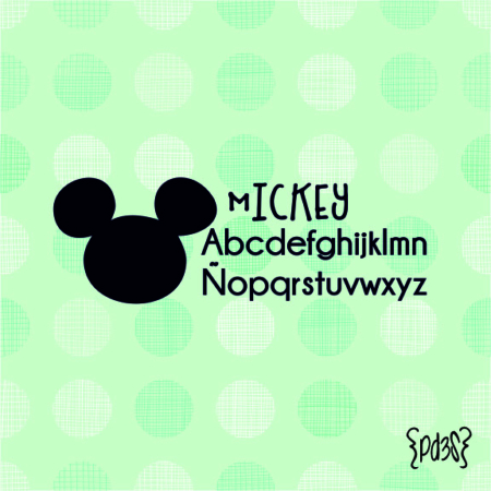 Par de 3 Studio sello marca ropa mickey