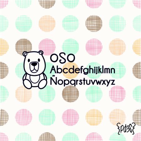 Par de 3 Studio sello marca ropa oso