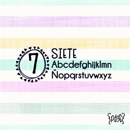 Par de 3 Studio sello marca ropa siete