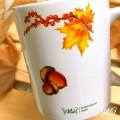 par de 3 studio autumn taza ardilla