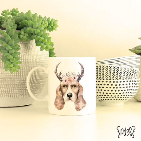 Par de 3 Studio taza Dog lover