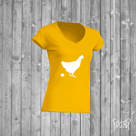 Par de 3 studio shop camiseta madre gallina