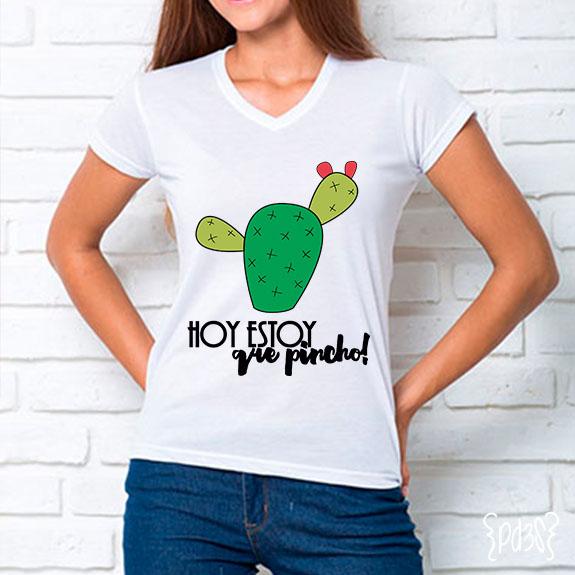 par de 3 studio camiseta cactus