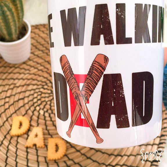 par de 3 studio taza walking dad