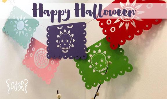 Par de 3 happy halloween