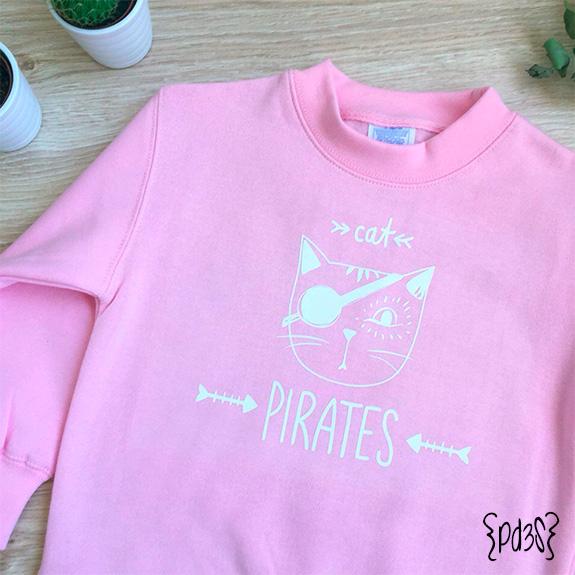 Par de 3 studio sudadera infantil pirata