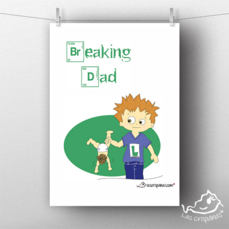Lámina breaking dad Par de 3 Studio Shop