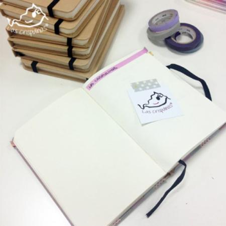 Libreta craft con goma elástica par de 3 studio