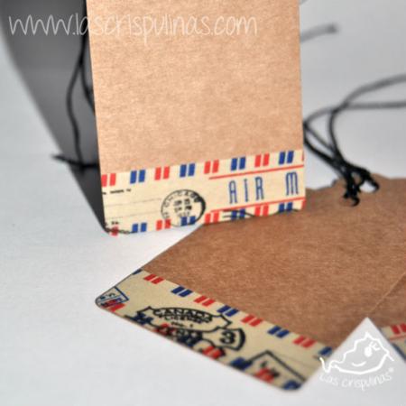 Etiquetas Craft sello Par de 3 Studio Shop