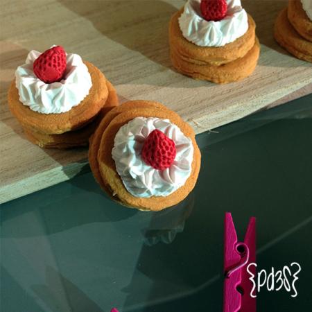 goma iwako pancake Par de 3 Studio Shop
