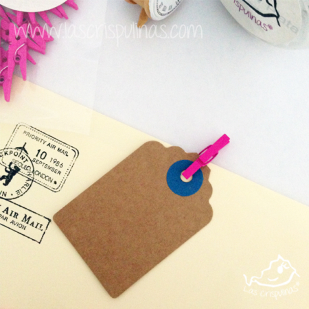 Mini pinzas rosas Par de 3 Studio Shop
