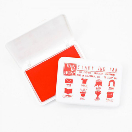 tinta roja scrapbooking par de 3 studio