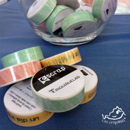washi tape triquiñuelas melocotón Par de 3 Studio Shop