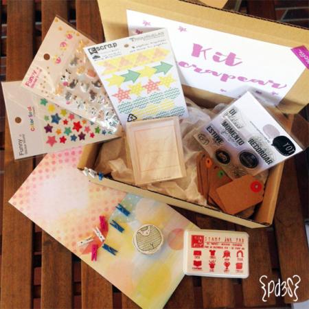 Kit A Escrapear Par de 3 Studio Shop