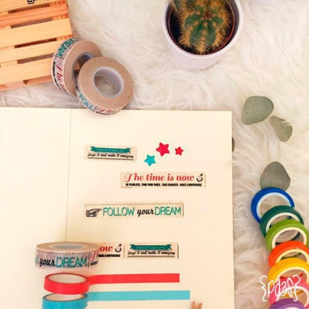 Washi tape frases Par de 3 Studio shop