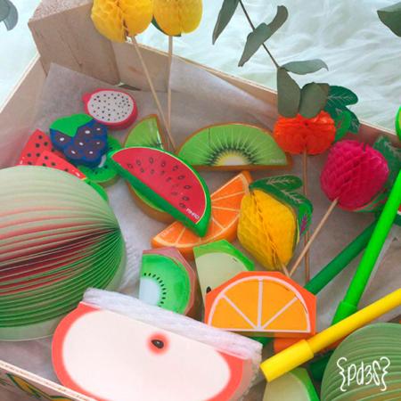 Par de 3 studio frutas corrector