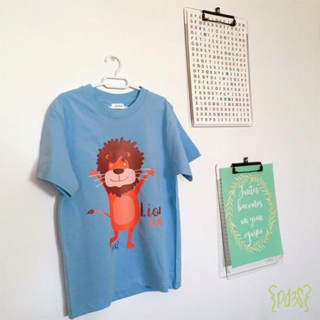 par de 3 studio camiseta leon