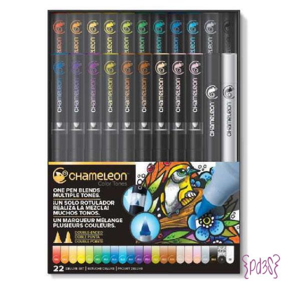 Par de 3 Studio shop chameleon pen pack 22