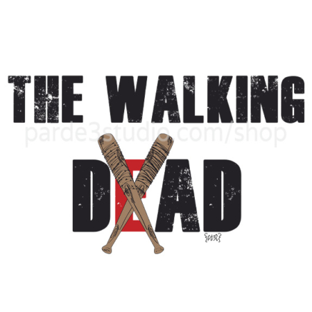 Par de 3 Studio taza the walking dad