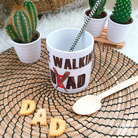 par de 3 studio taza walking dad