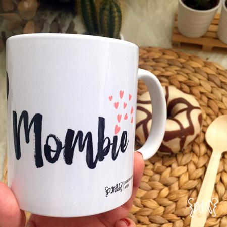 Par de 3 Studio Shop taza mombie