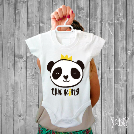 Par de 3 Studio Shop body the king panda