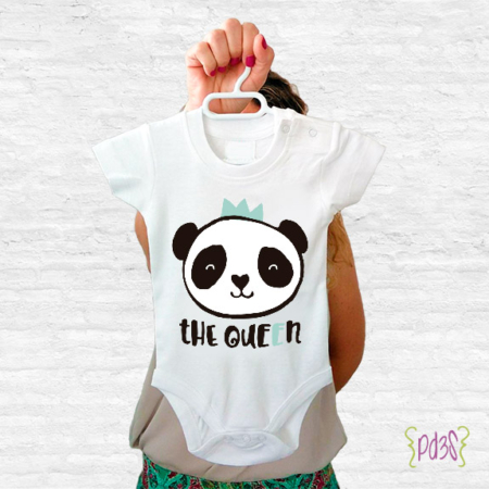 Par de 3 Studio Shop body the queen panda