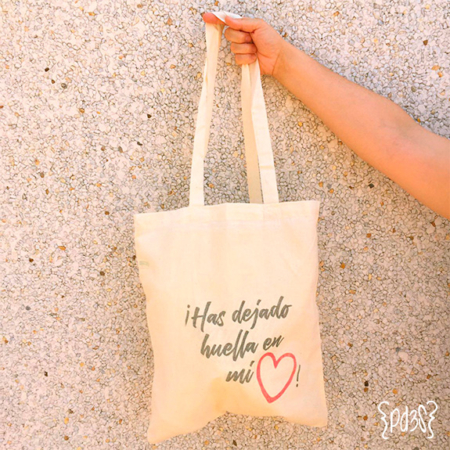 par de 3 studio tote bag corazon