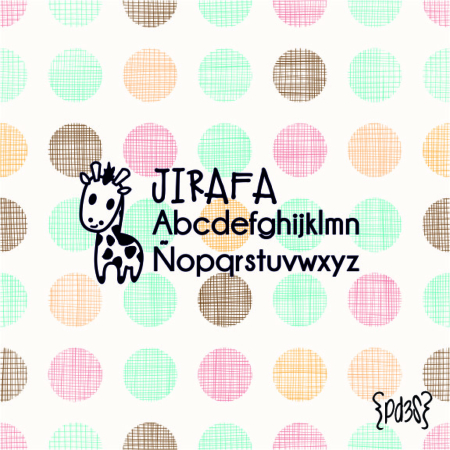 Par de 3 Studio sello marca ropa jirafa