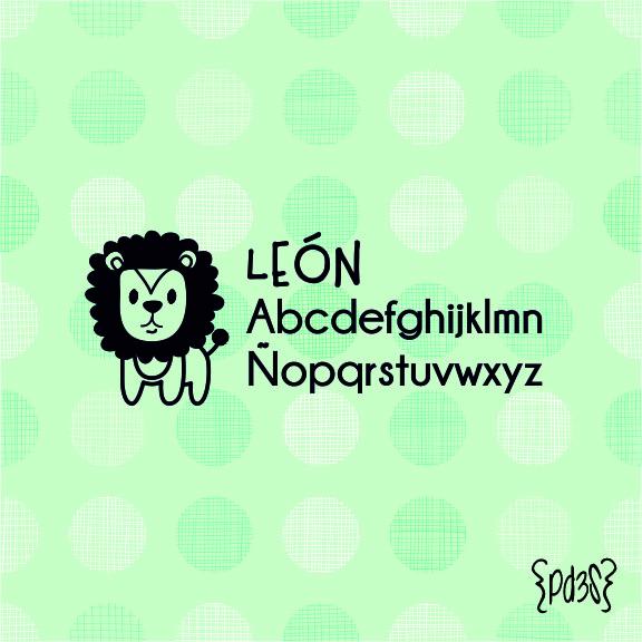Par de 3 Studio sello marca ropa leon