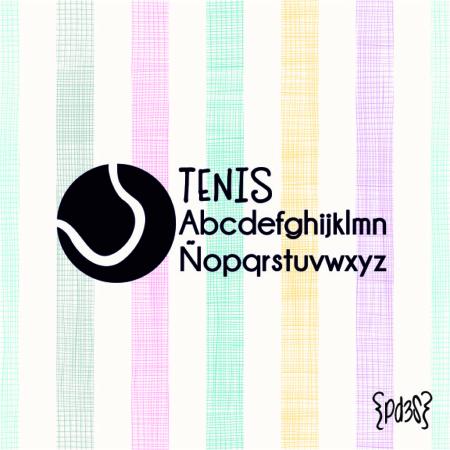Par de 3 Studio sello marca ropa tenis