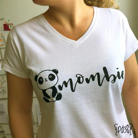 Par de 3 studio camiseta dia madre mombie