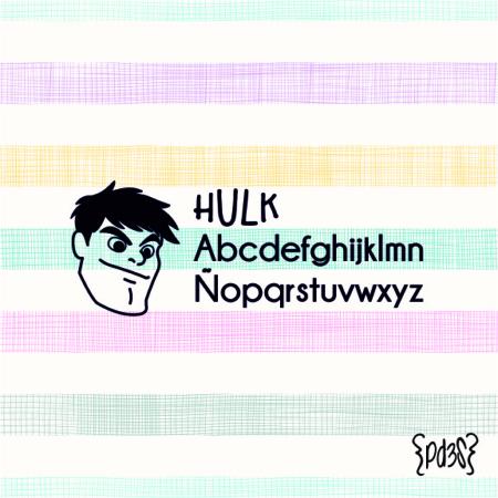 Par de 3 Studio sello marca ropa hulk