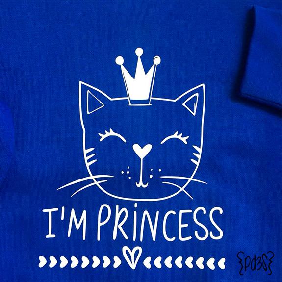 Par de 3 studio sudadera infantil princesa