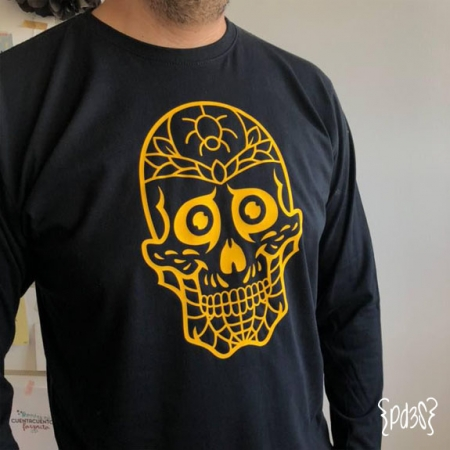 Par de 3 Studio camiseta halloween