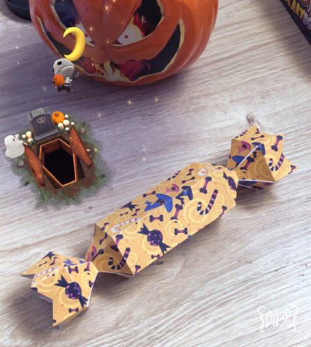 Par de 3 Studio Halloween Cracker