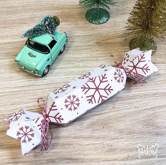 Par de 3 studio Deco Navidad